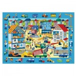 Trefl-15538 Puzzle Observation - Chantier de Construction