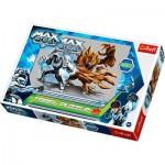 Puzzle  Trefl-16206 Max Steel : Combat de titans