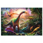 Puzzle  Trefl-16277 Le Monde de Dinosaures