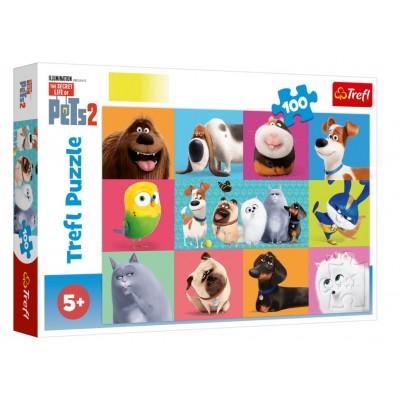 Puzzle Trefl-16357 The Secret Life of Pets 2