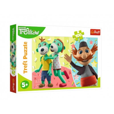 Puzzle Trefl-16388 Treflikow