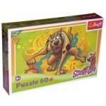 Puzzle  Trefl-17223 Scooby-Doo fait du basket