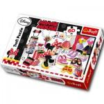 Puzzle  Trefl-17225 Minnie, Reine de la mode