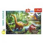 Puzzle  Trefl-17319 Dinosaures