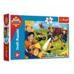 Puzzle  Trefl-18244 Sam le Pompier