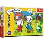 Puzzle  Trefl-18264 The Adventures of Kitty Feline