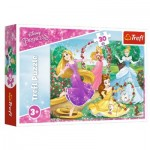 Puzzle  Trefl-18267 Disney Princess