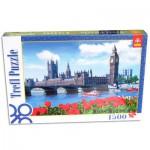 Puzzle  Trefl-26104 Royaume Uni, Londres : Le parlement de Londres