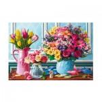 Puzzle  Trefl-26157 Fleurs