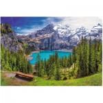 Puzzle  Trefl-26166 Lac d'Oeschinen, Alpes, Suisse