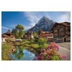 Puzzle  Trefl-27089 Alpes en Eté