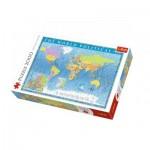 Puzzle  Trefl-27099 The World Political