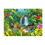 Puzzle  Trefl-27104 Forêt Tropicale
