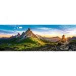 Puzzle  Trefl-29038 Passo di Giau, Dolomites, Italie