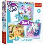 3 Puzzles - Mon Petit Poney