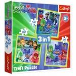3 Puzzles - PJ Masks