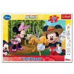 Trefl-31131 Puzzle Cadre : Mickey