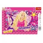 Trefl-31213 Puzzle Cadre - Barbie