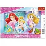 Trefl-31279 Puzzle Cadre - Disney Princess
