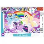 Trefl-31280 Puzzle Cadre - My Little Pony