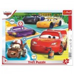 Trefl-31346 Puzzle Cadre - Cars