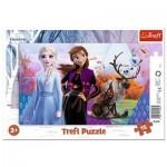 Trefl-31348 Puzzle Cadre - La Reine des Neiges II