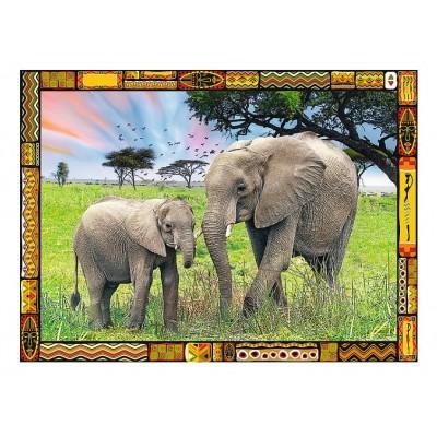 Puzzle Trefl-33067 Savannah