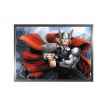 Trefl-34245 4 Puzzles - Avengers