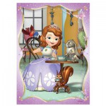 Trefl-34247 4 Puzzles - Disney Princesse Sofia