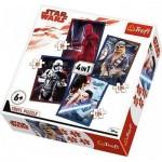 Trefl-34277 4 Puzzles - Star Wars
