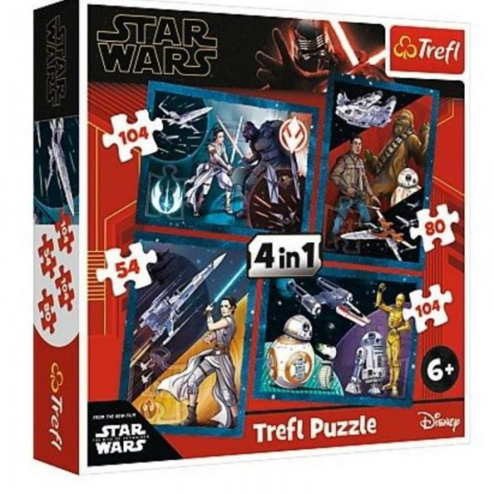 4 Puzzles - Star Wars