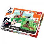 Trefl-34400 2 Puzzles en 1 :  La petite Taupe