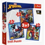 Puzzle  Trefl-34841 3 in 1 - Spider Force
