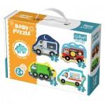 Trefl-36071 4 Baby Puzzles