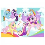 Trefl-36516 Color Puzzle - My Little Pony