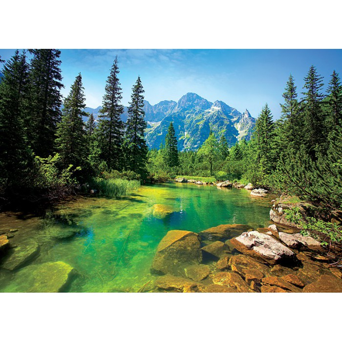 Pologne : Rivière des Tatras