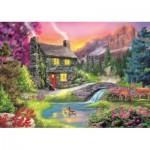 Puzzle  Trefl-37325 Mountain Idyll