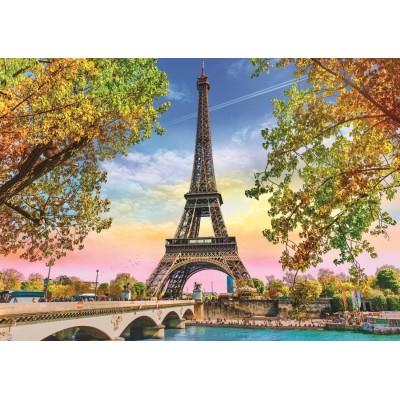 Puzzle Trefl-37330 Paris Romantique