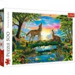 Puzzle  Trefl-37349 Loups