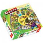 Puzzle  Trefl-39050 Calendrier