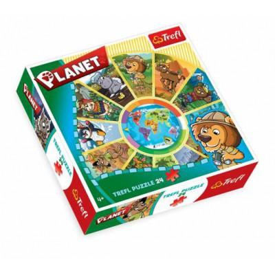 Puzzle Trefl-39055 Planète