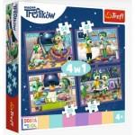 Puzzle   4 in 1 - Evening Trefliks rituals - Good night