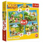 Puzzle   4 in 1 - Maya the Bee Adventures