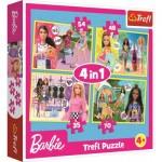4 Puzzles - Barbie