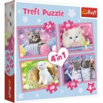 4 Puzzles - Chatons