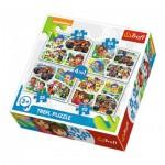 4 Puzzles - Dora