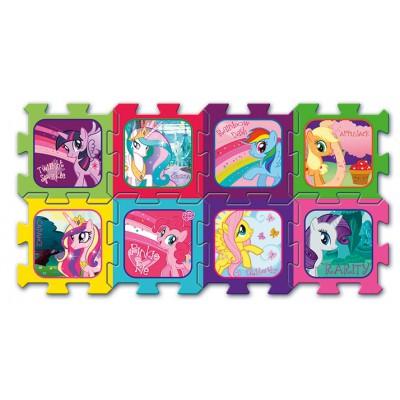 Trefl-60397 Puzzle en Mousse - Mon Petit Poney