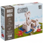 Puzzle  Trefl-60979 Build with Bricks - Le Château