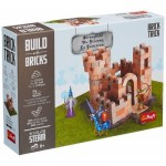Puzzle  Trefl-60980 Build with Bricks - La Forteresse