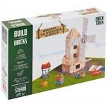 Puzzle  Trefl-60984 Build with Bricks - Le Moulin